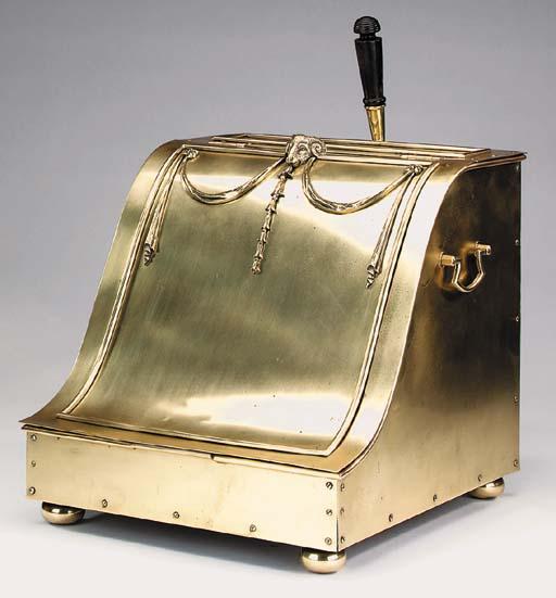 A brass purdonium, 20th centur