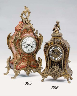 A gilt bronze mounted boulle s