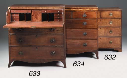 A George III oak chest