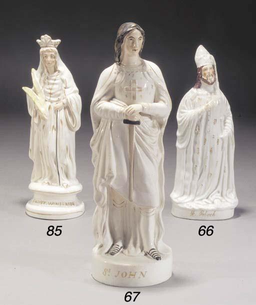 A figure of St. Patrick