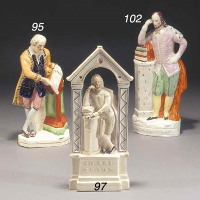 A figure of William Shakespear