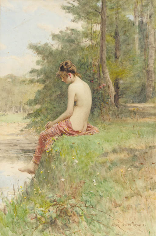 Adrien Moreau (1843-1906)