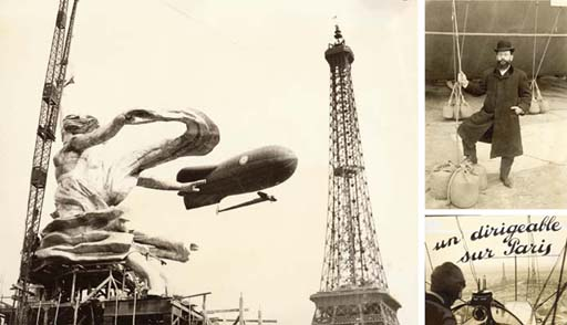 French non-rigid airships and