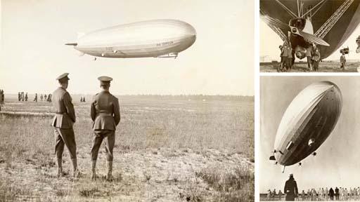 Zeppelins: pre-First World War