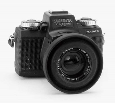 Minolta 110 zoom SLR cameras