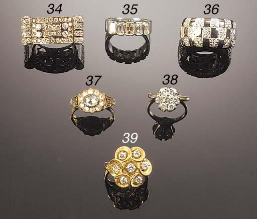 A diamond ring,