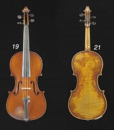 An English violin by Emanuel W