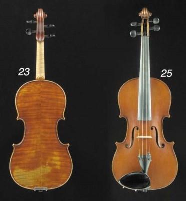 An English violin by Bèla Szep