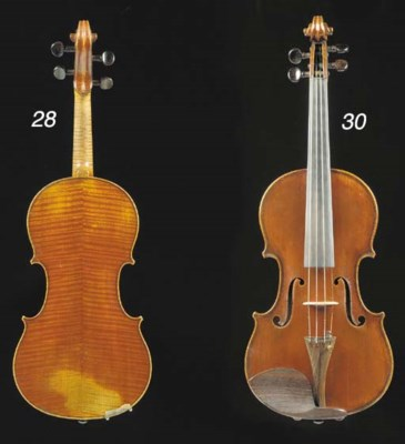 A French violin by Justin Dera