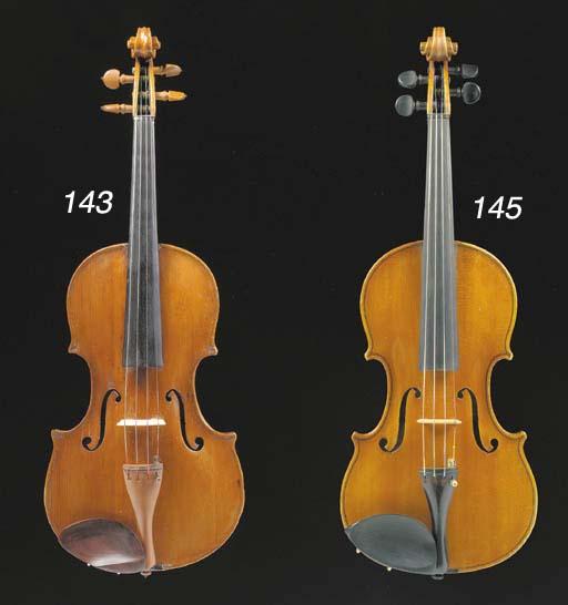 A Italian violin by Alberto Gu