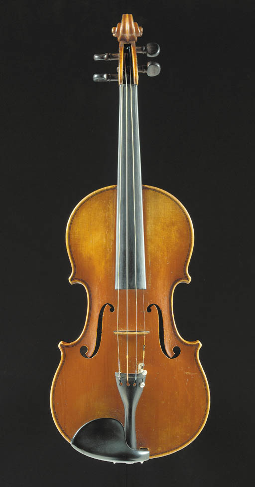 A good French violin by Jacque