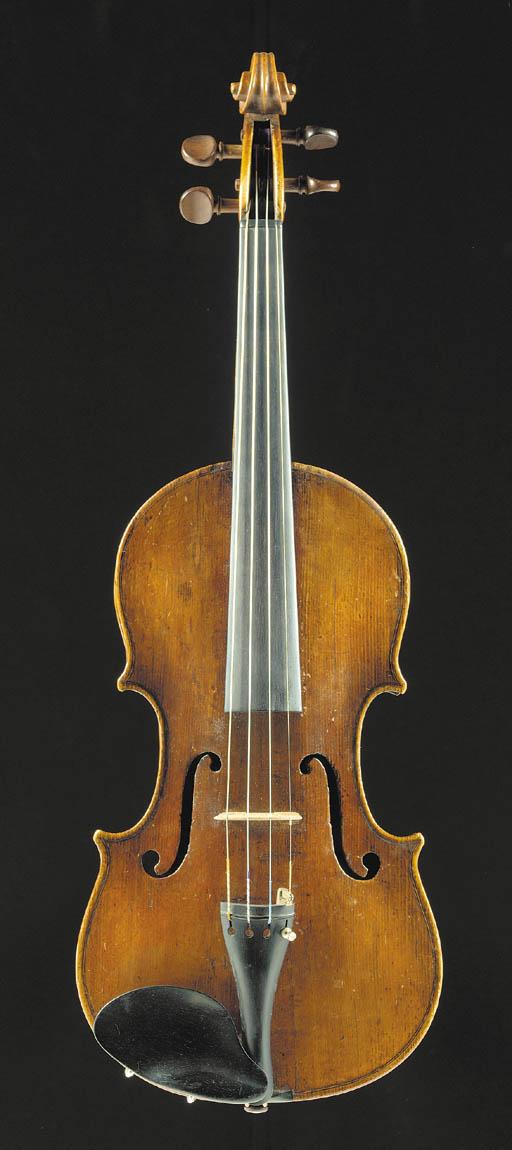 An Neapolitan violin labelled