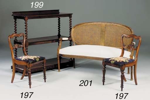 A beech wood sofa, 20th centur