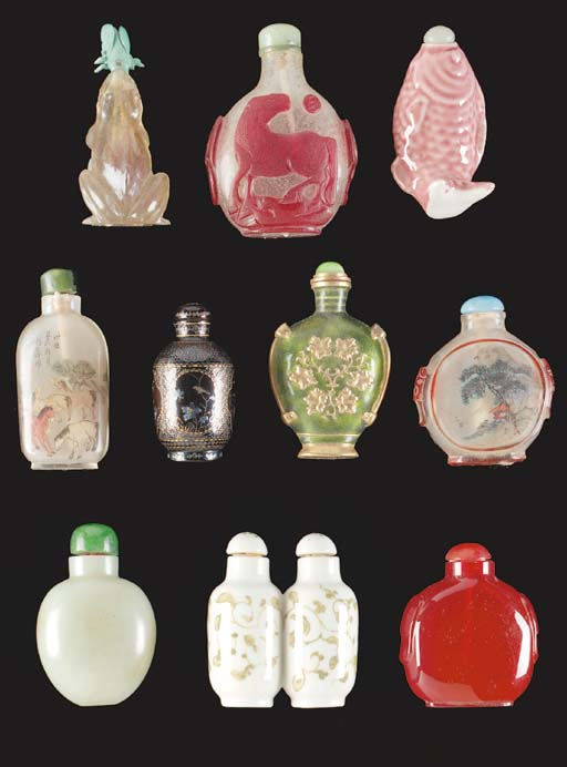 A Chinese inside painted snuff