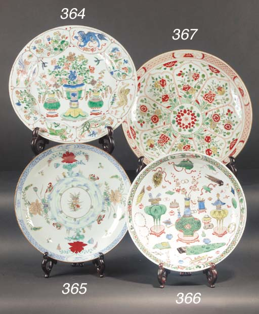 A doucai dish 18th century