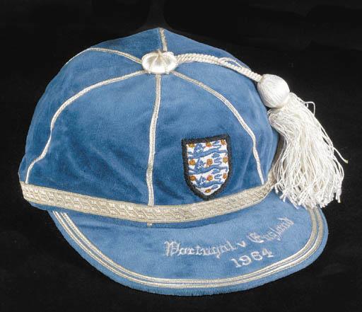 A blue England v. Portugal Int