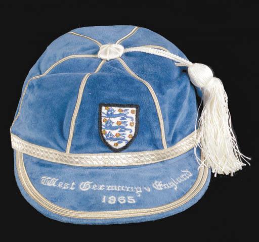 A blue England v. West Germany