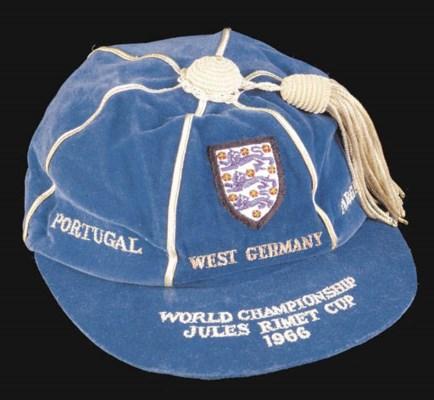 A blue World Cup 1966 Internat