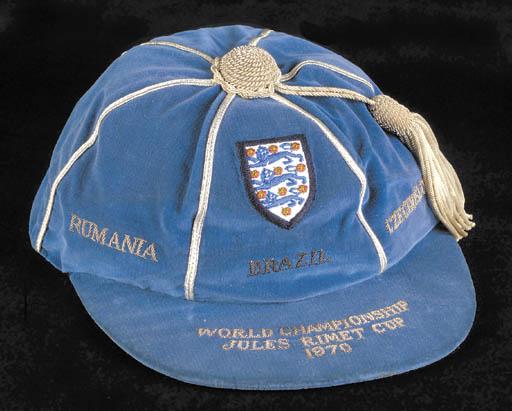 A blue World Cup 1970 Internat