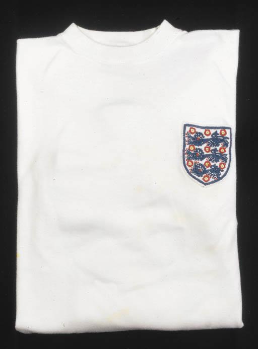 A white England International