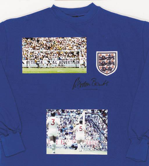 A blue Toffs replica England g