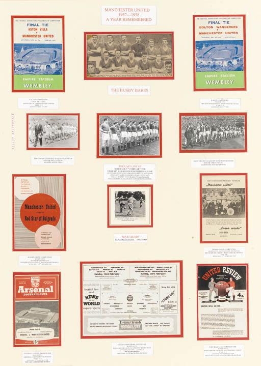 Manchester United, 1957-1958 f