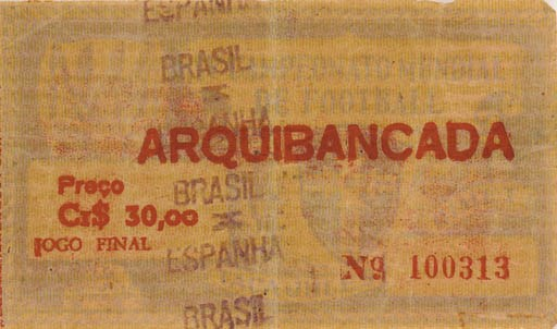 Brazil World Cup 1950: a Brazi