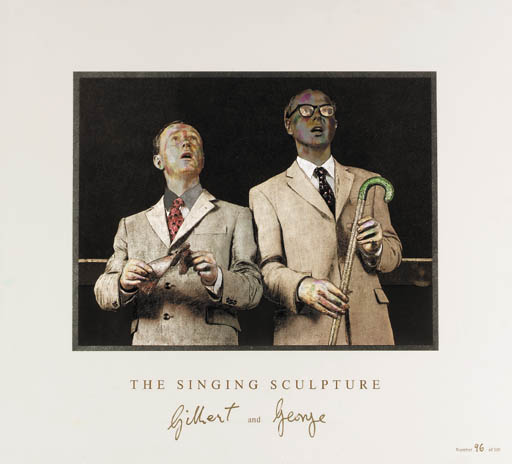 Gilbert & George (b.1943 and b