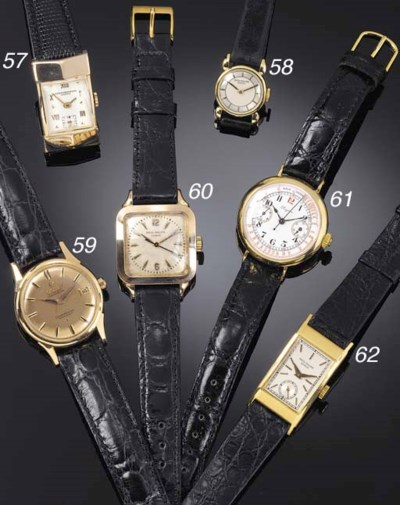 LONGINES, AN 18ct. GOLD EARLY