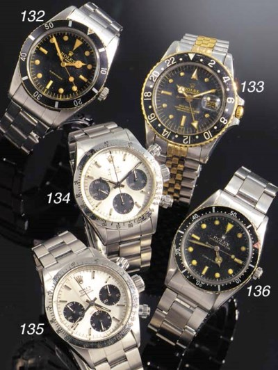 ROLEX, A STAINLESS STEEL AND G