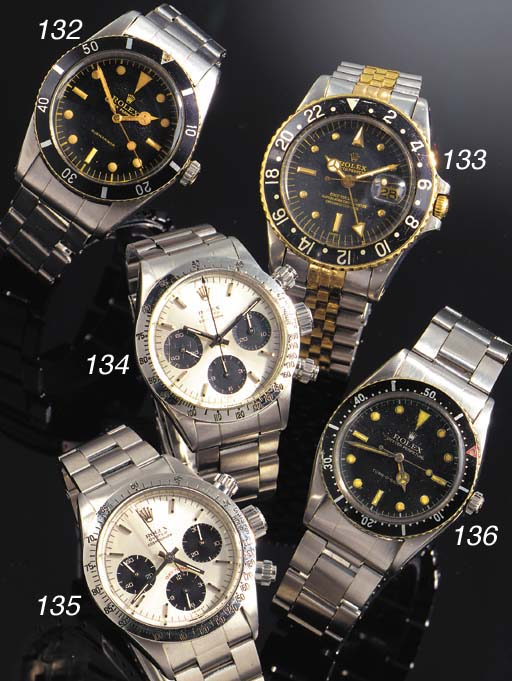 ROLEX, A STAINLESS STEEL CHRON