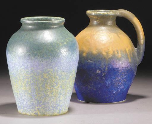 A Ruskin Chrystaline vase