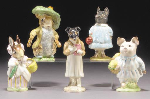 'Mrs Rabbit', 'Benjamin Bunny'