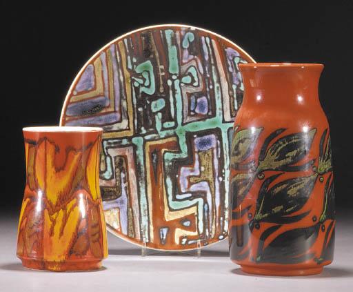 A Poole Pottery Delphis Collec
