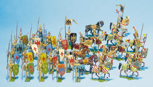 Heyde Mounted Medieval Knights