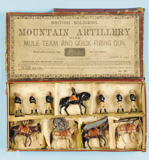 Britains Set 28 Mountain Artil
