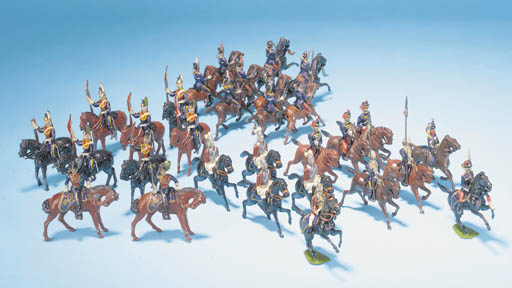 Britains early British Cavalry