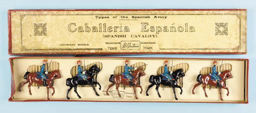 Britains rare Set 218 Spanish