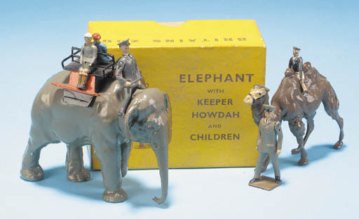 Britains Zoo Set 252 Elephant