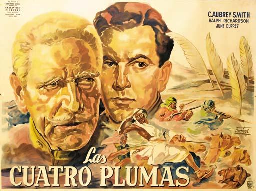 Four Feathers/Las Cuatro Pluma