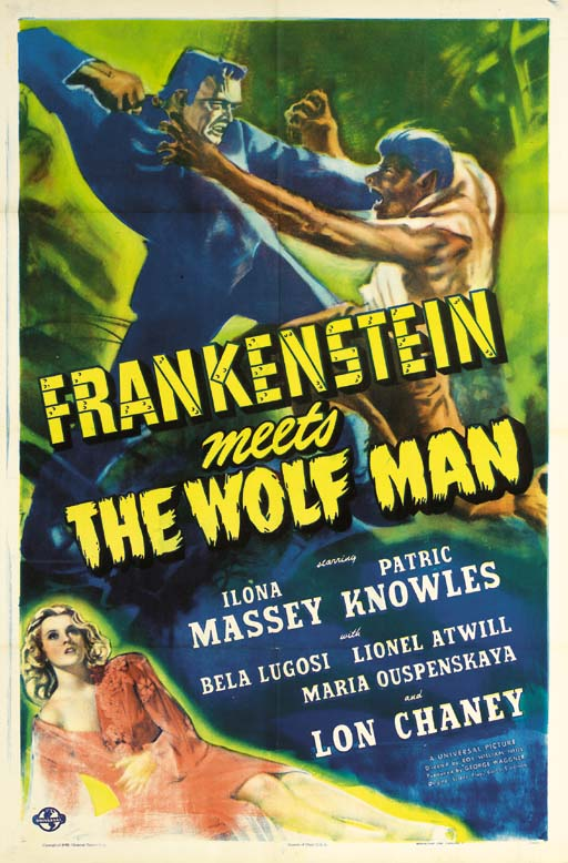 Frankenstein Meets The Wolf Ma