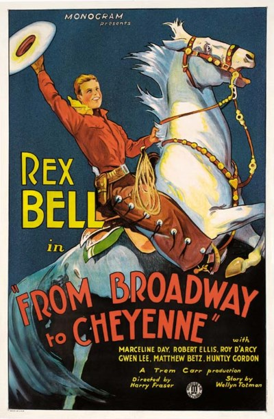 From Broadway To Cheyenne