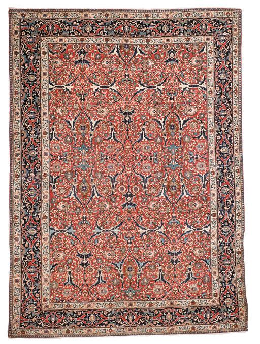 a fine Tabriz Jaffar carpet, N