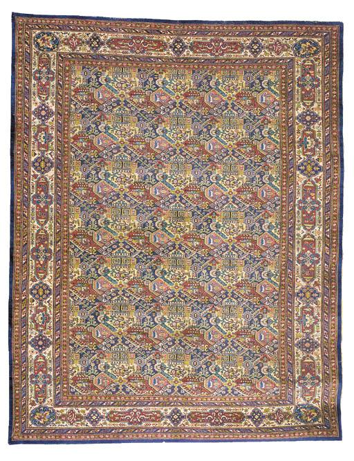A fine unusual Shirvan carpet,