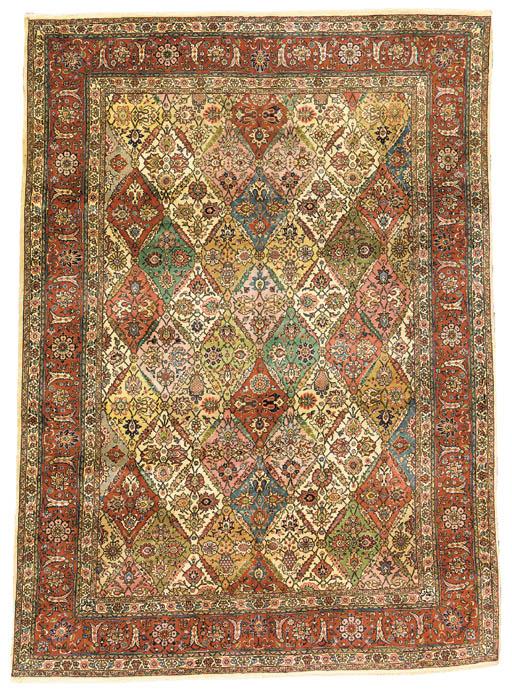 A fine Tabriz Alabaff carpet,