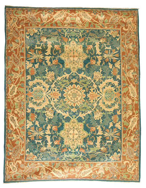 A fine carpet of Arts and Craf