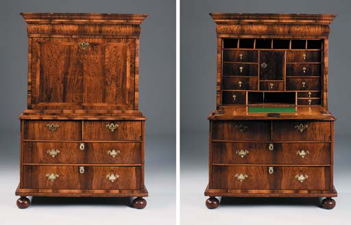 A WILLIAM AND MARY ROSEWOOD VE
