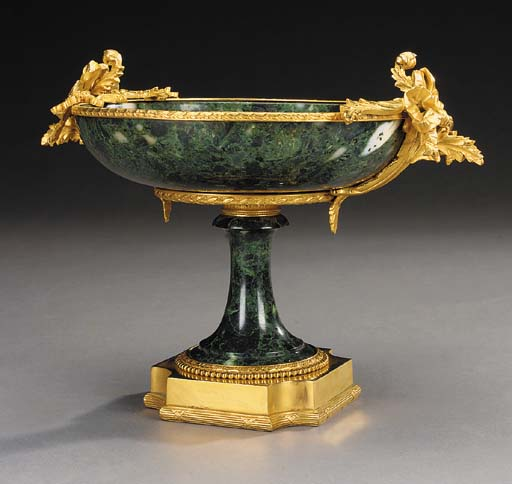 A French gilt bronze mounted v