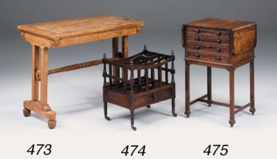 A VICTORIAN SATINWOOD AND INLA