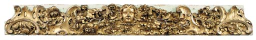 A William IV carved giltwood a